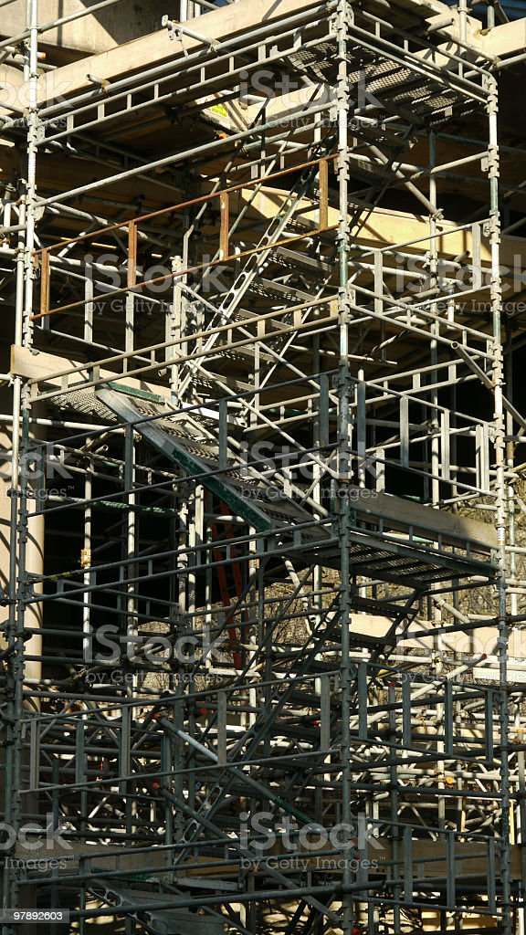 Scaffolding Tower royalty-free stock photo
