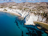 istock Scala dei Turchi Stair of the Turks, Sicily Italy ,Scala dei Turchi. A rocky cliff on the coast of Realmonte, near Porto Empedocle, southern Sicily, Italy 1289289312