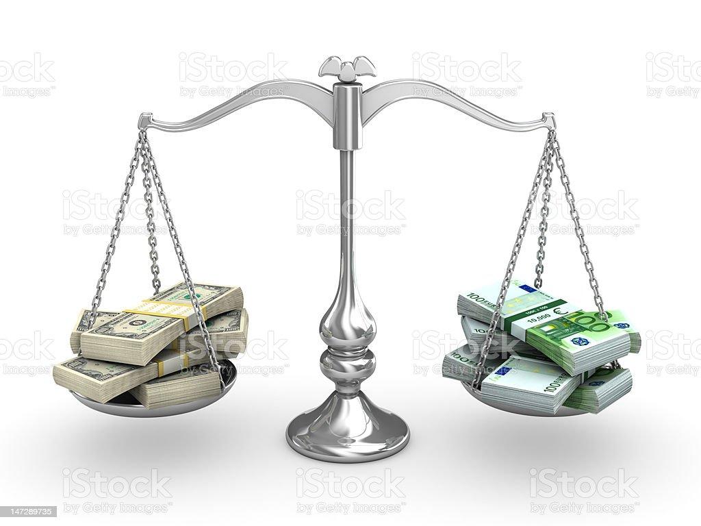 Scale Balance stock photo
