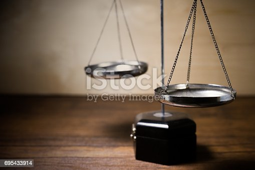 istock Scale of justice 695433914