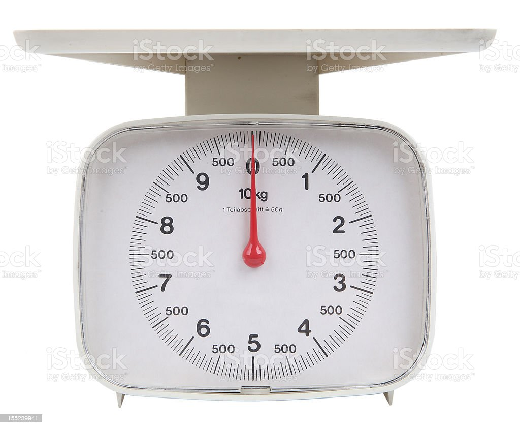 scale stock photo