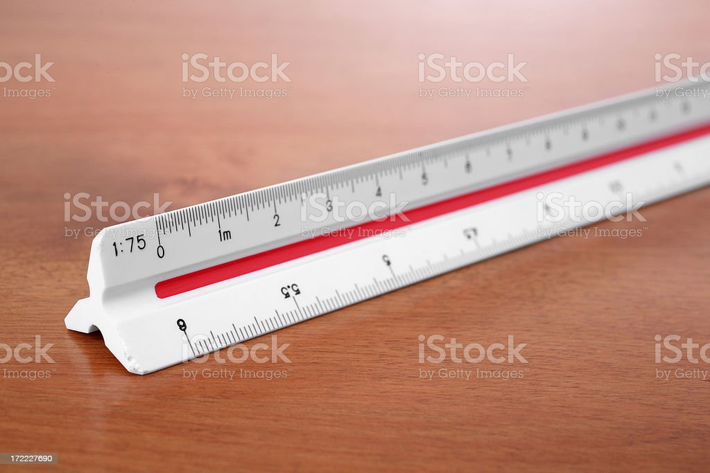 Scale Ruler royalty-free stock photo