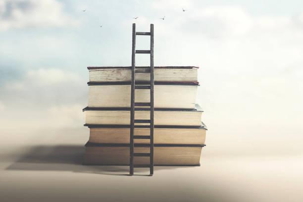 Skala, die Wissen und Freiheit erreicht – Foto