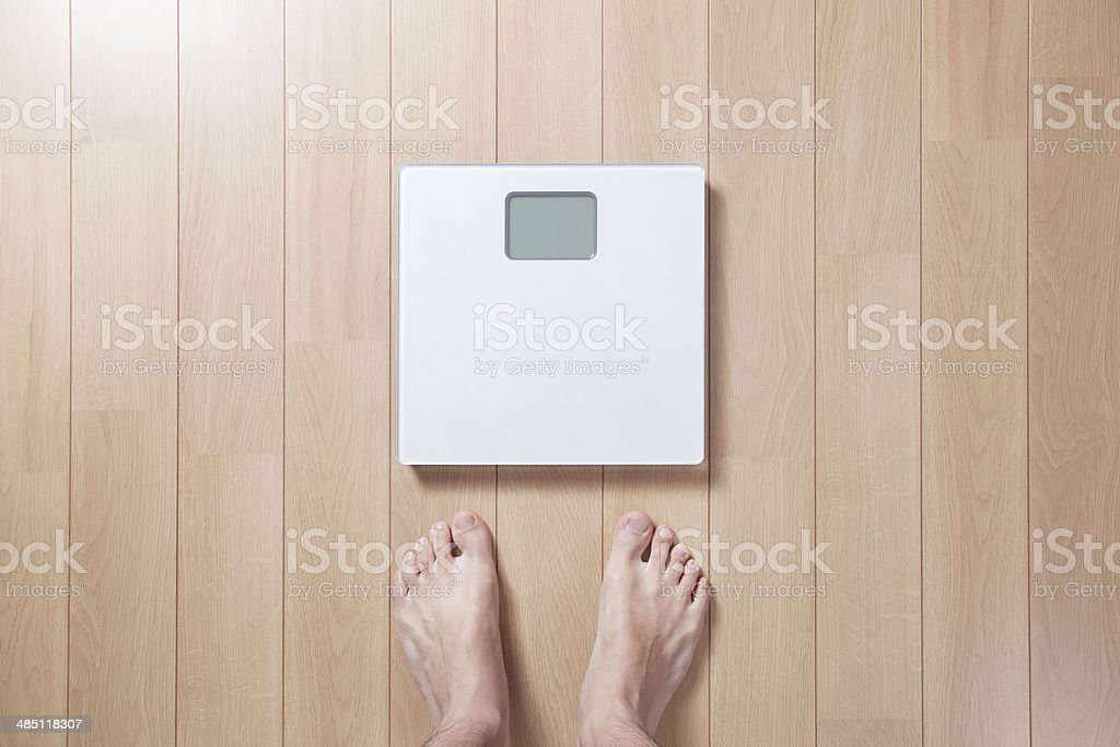 Scale / Weighing machine stock photo