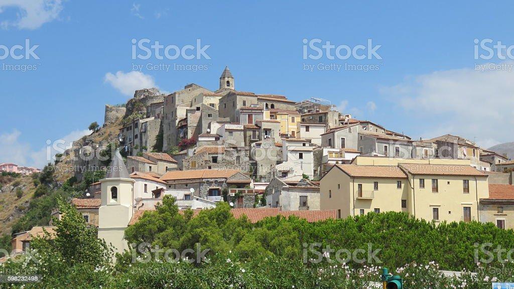 Scalea, Calabria foto royalty-free