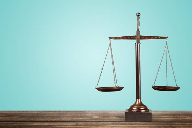 Scales of justice. Scales of Justice on table, Weight Scale, Balance. balance stock pictures, royalty-free photos & images