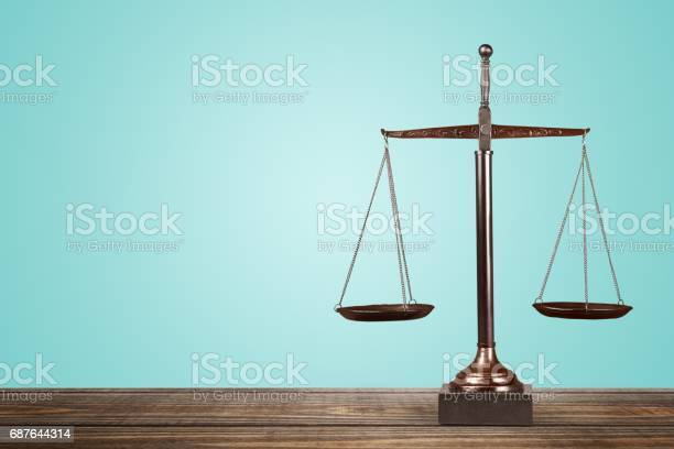 Scales Of Justice Stock Photo - Download Image Now