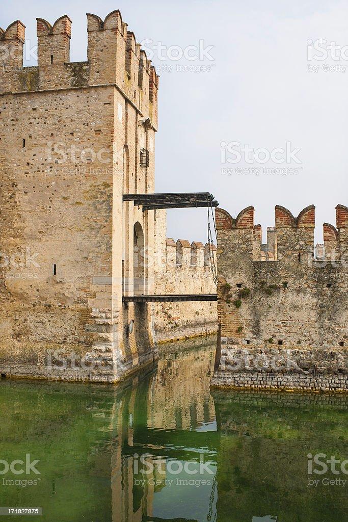 Scaligers Castle stock photo