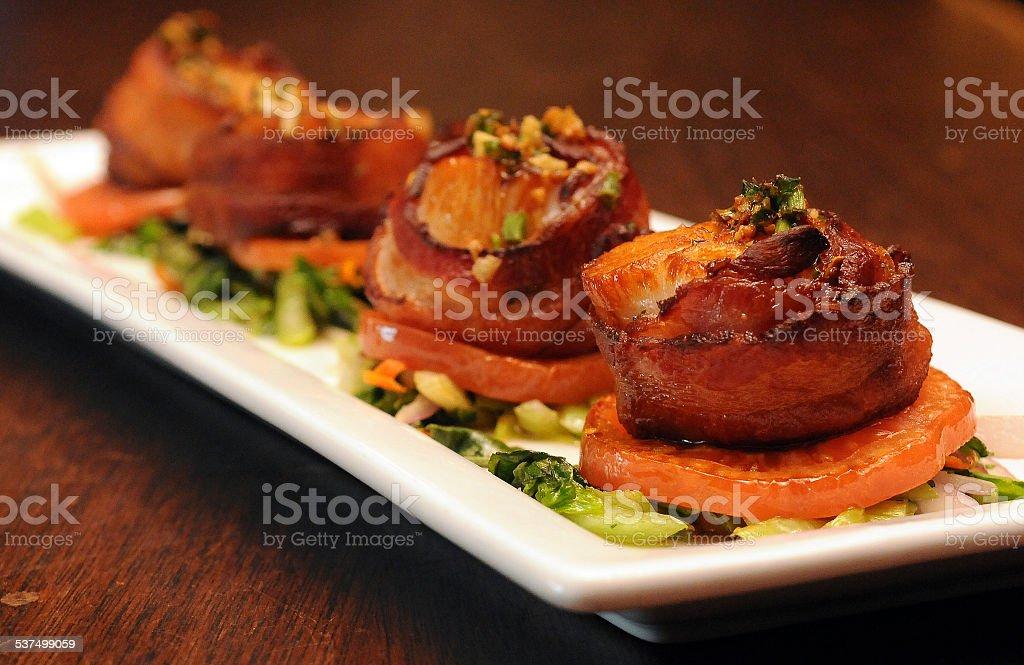 Scallops Appetizing stock photo