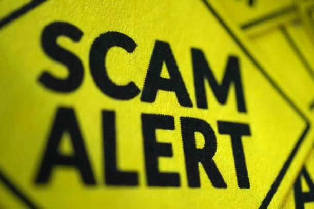 Cтоковое фото scam