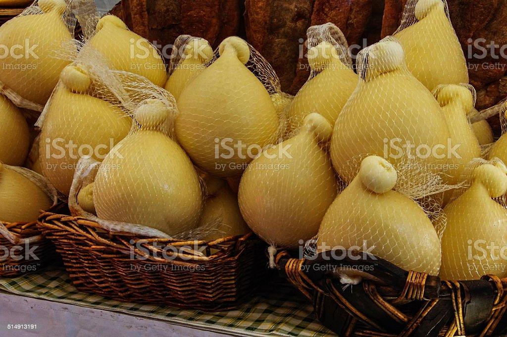 Scamorza formaggio - foto stock