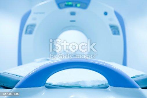 157642425istockphoto CAT Scan Machine in hospital 157642194