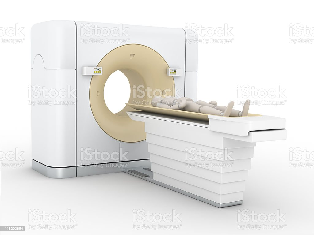 CAT Scan Machine royalty-free stock photo
