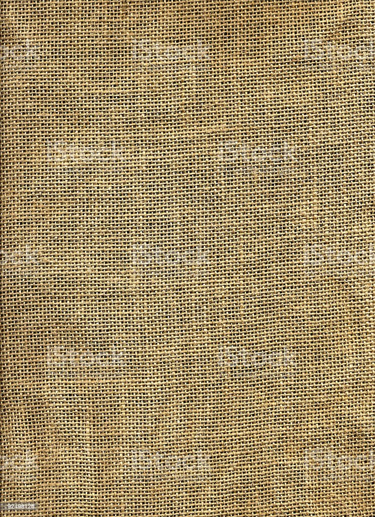 Scan of jute royalty-free stock photo