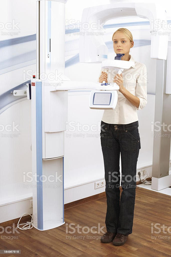 CAT scan stock photo
