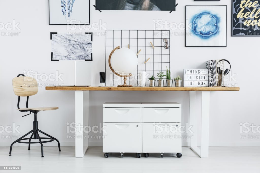 Scandi working space