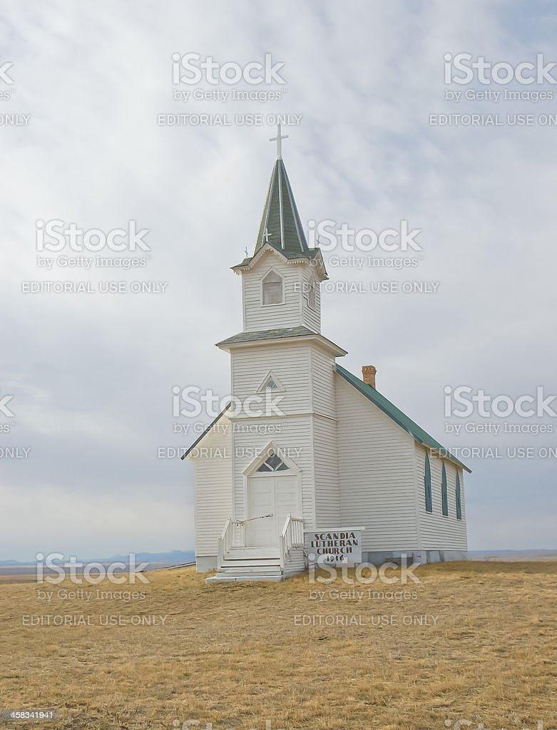 Scandia Lutheran Church, 1916 royalty-free stock photo