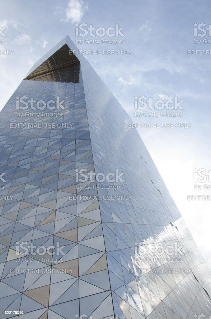 Scandic Victoria tower - Hotel stock photo