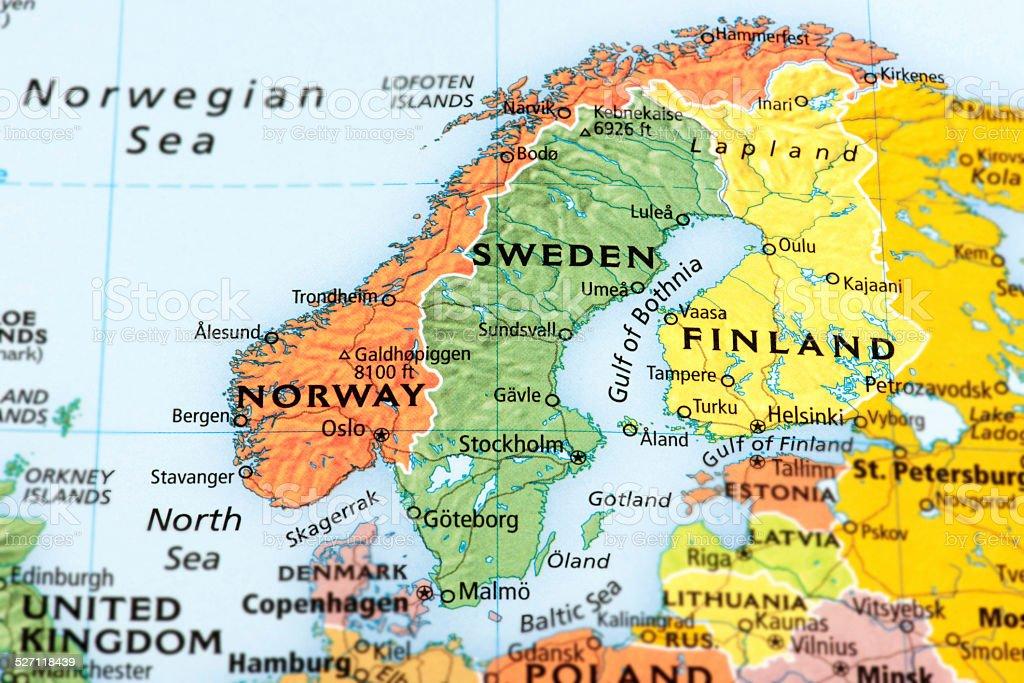 Scandinavia stock photo