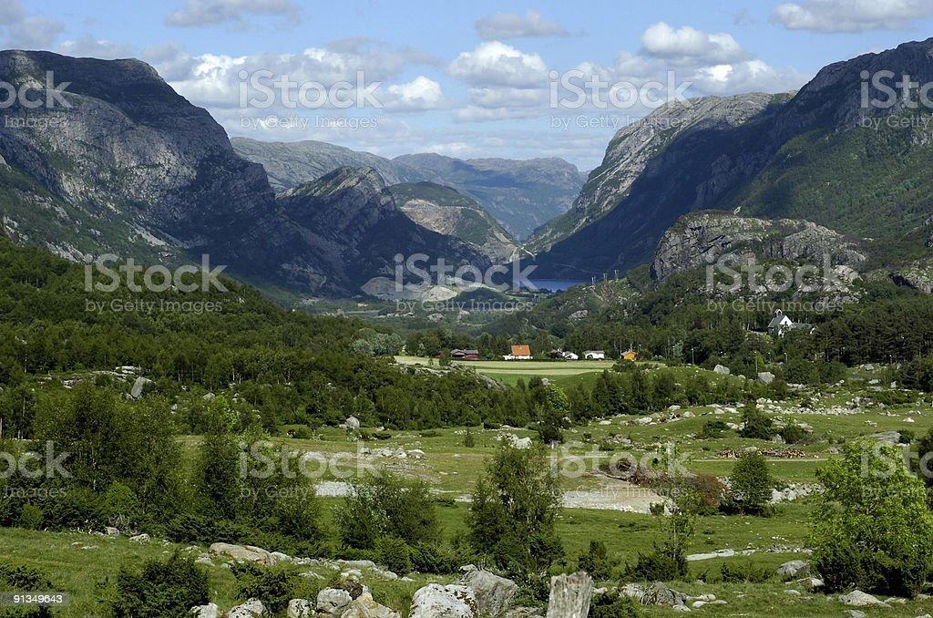 Scandinavia royalty-free stock photo