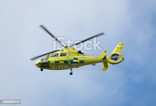 istock Scandinavian Air Ambulance 589980444