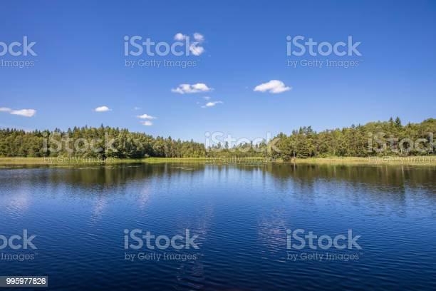 Photo of Scandinavian lake view
