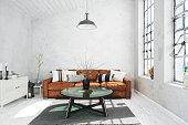 Scandinavian Style Modern Living Room