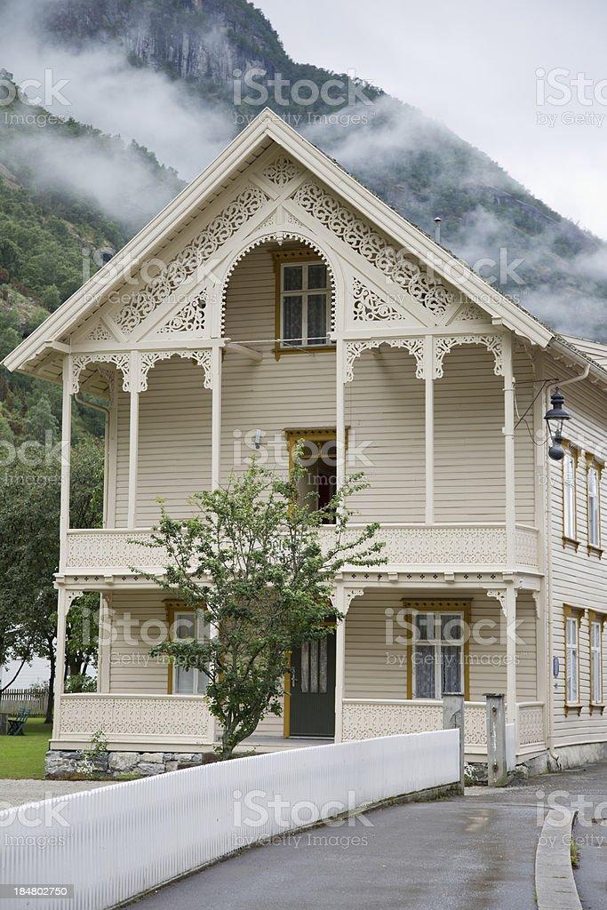 Scandinavian Villa royalty-free stock photo