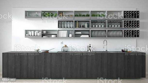 Scandinavian white kitchen with wooden and gray details minimal picture id630041602?b=1&k=6&m=630041602&s=612x612&h= tez3xlgtwlktacfuveg432zvvyfv0hzs6aywaaowug=