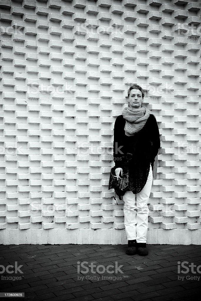 Scandinavian Woman - 40 years old.... royalty-free stock photo