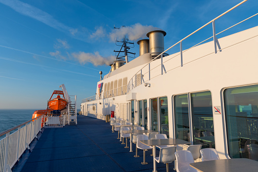 Scandlines ferry Copenhagen which sails between Danish town of Gedser and German city of Rostock