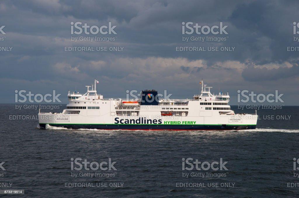 Scandlines Ferry Deutschland stock photo