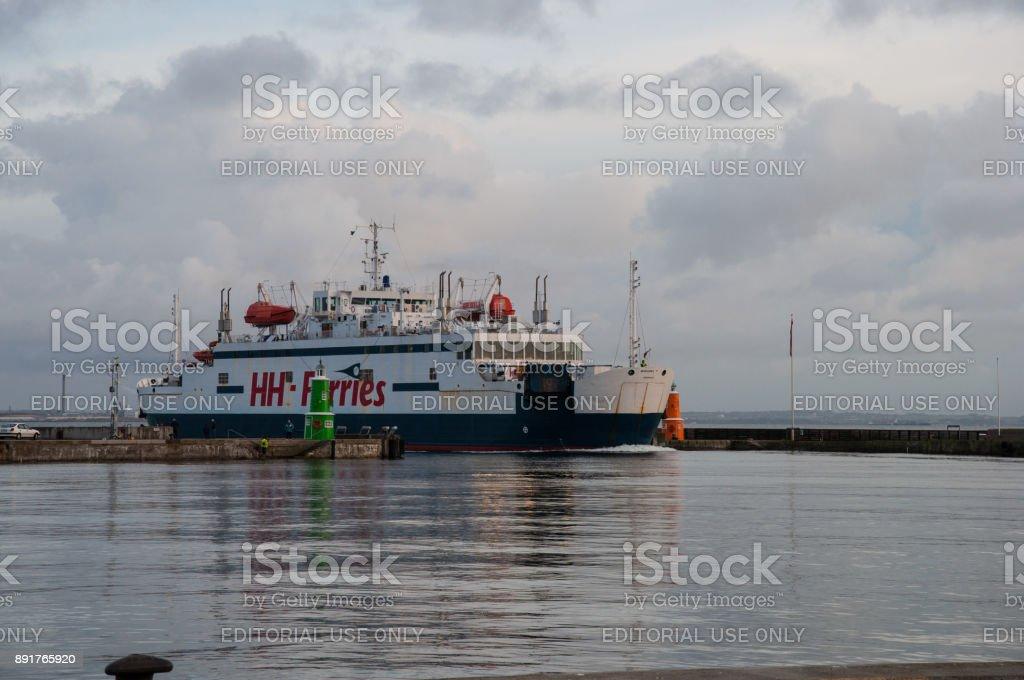 Scandlines ferry Mercandia stock photo