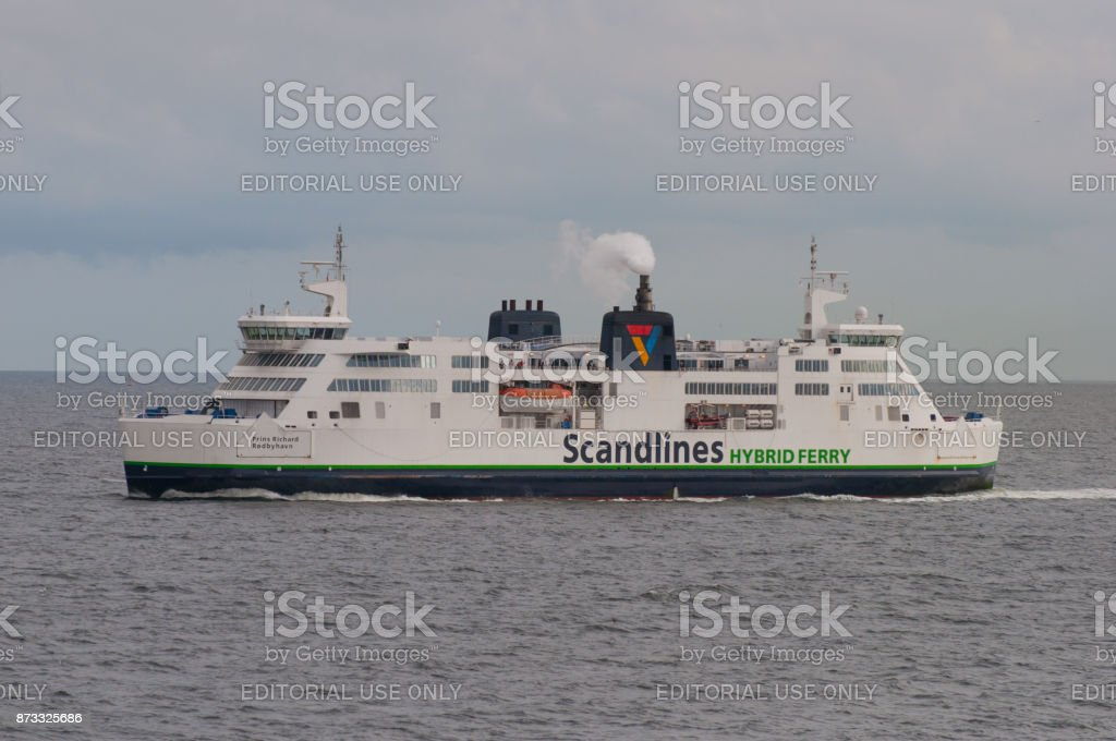 Scandlines Ferry Prins Richard stock photo
