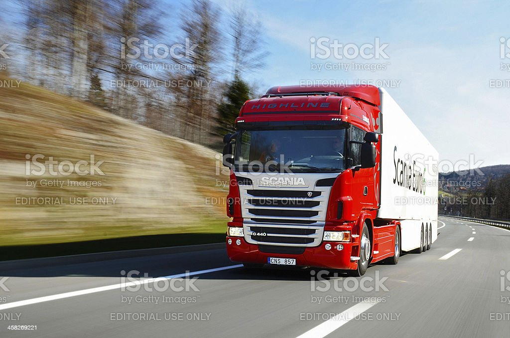 Scania G440 Euro 6 royalty-free stock photo