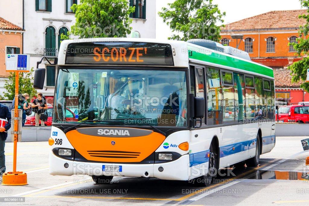 Scania OmniCity CN94UB - foto stock