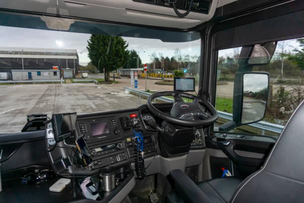 Scania v8 semi truck interior view of drivers cockpit picture id1198599933?b=1&k=6&m=1198599933&s=612x612&w=0&h=xxwlnq3g xzpyseahg hfrzsvnwwxqauy9x3fjfcck4=