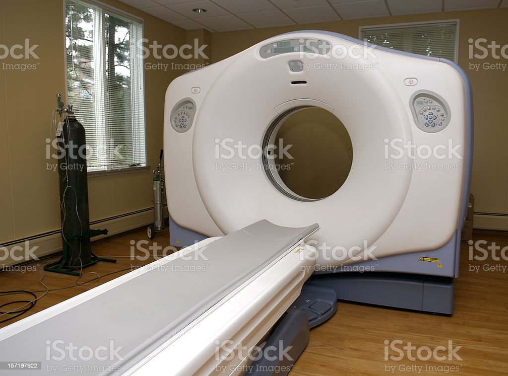 CT Scanner royalty-free stock photo