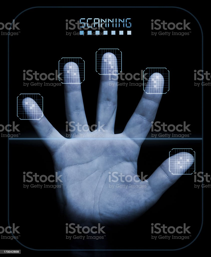 Scanner royalty-free stock photo