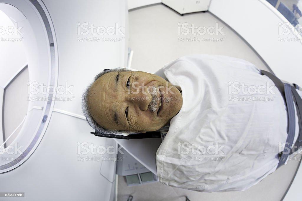 CT scanning royalty-free stock photo
