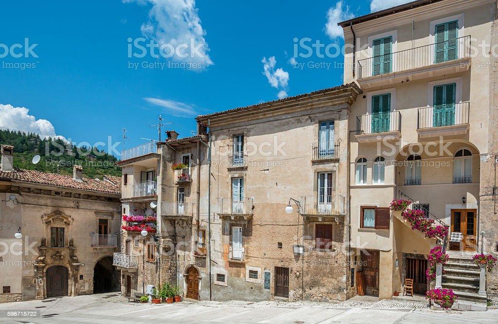 Scanno, L'Aquila Province, Abruzzo (Italy) - foto de stock