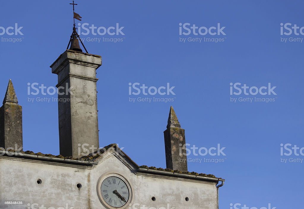Scansano Town hall royalty-free stock photo