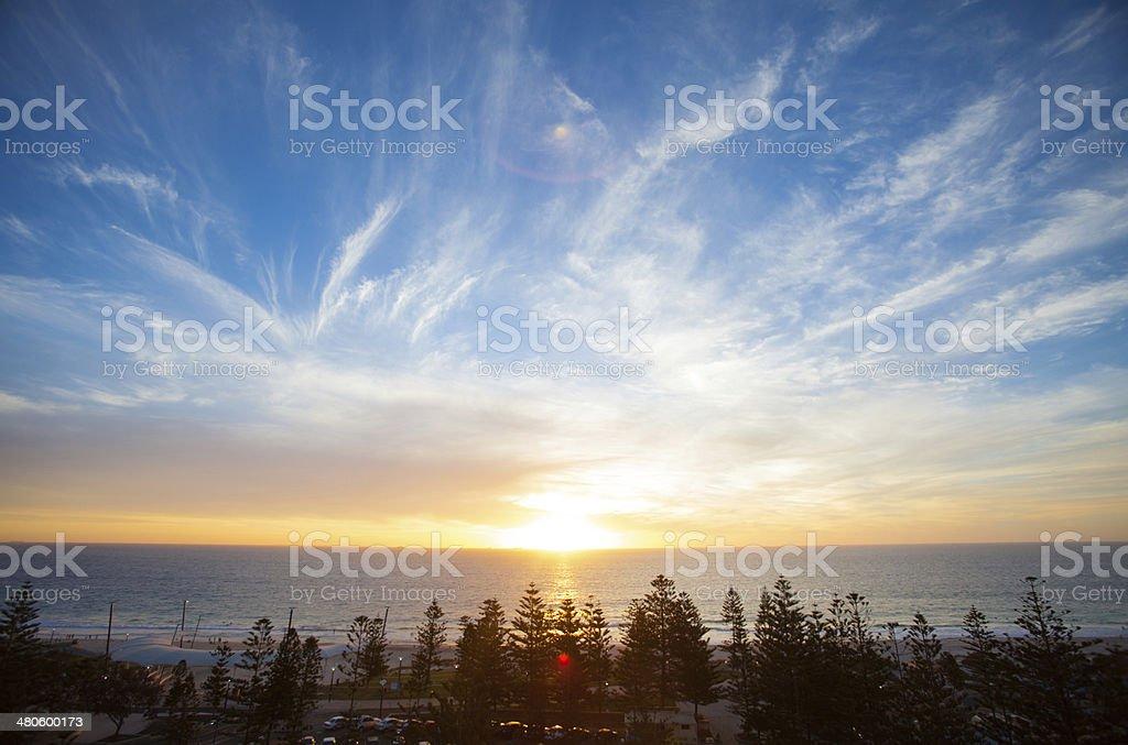 Scarborough Beach, Perth stock photo