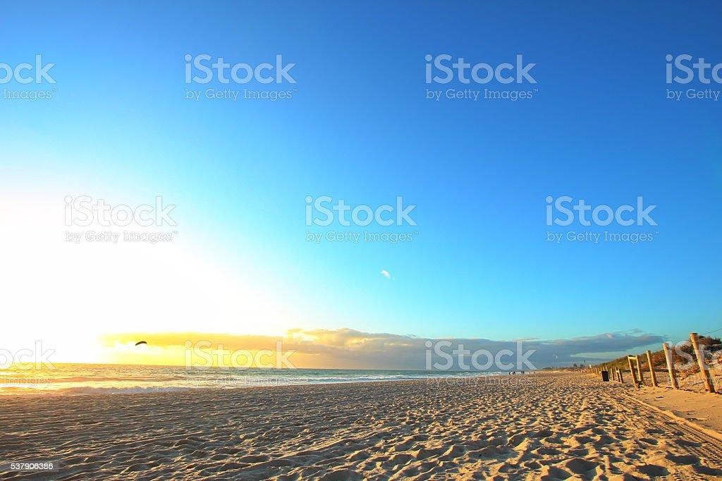 Scarborough Beach, Western Australia stock photo