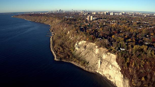 Scarborough Bluffer's Park stock photo