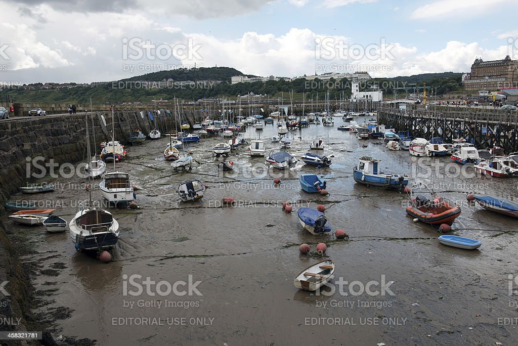 Scarborough royalty-free stock photo
