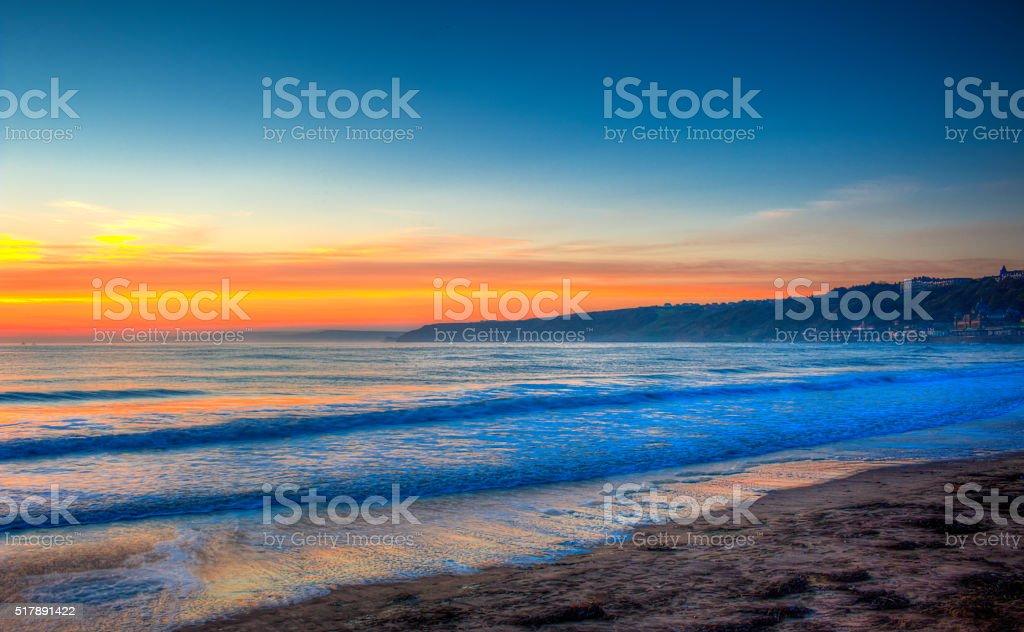 Scarborough South Bay stock photo