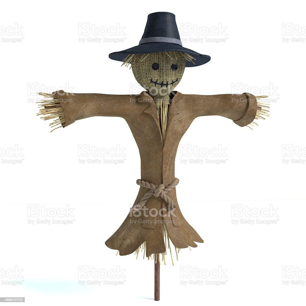 Scarecrow 2 stock photo