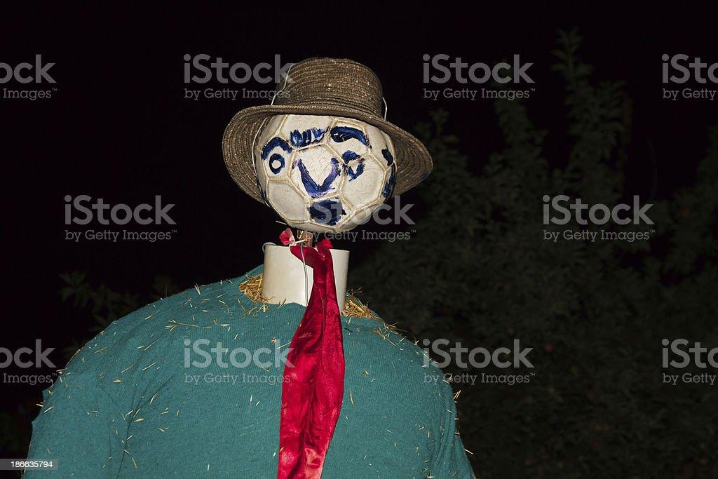 Scarecrow - Espantapajaros royalty-free stock photo