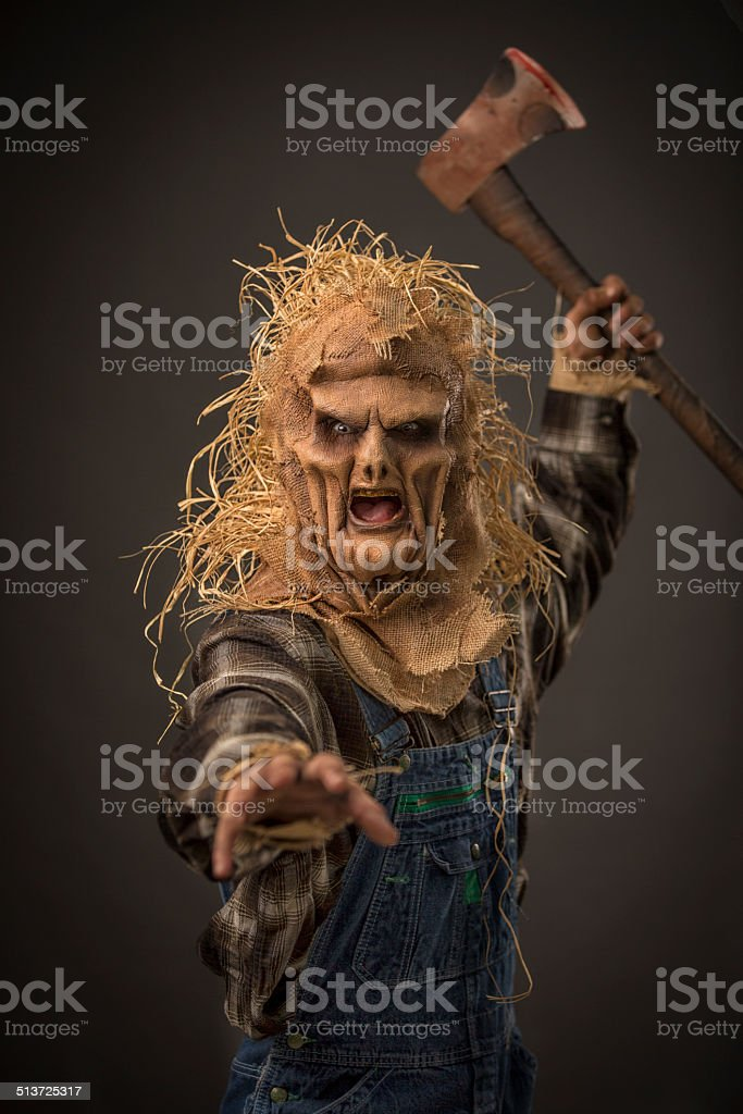 Scarecrow Killer stock photo